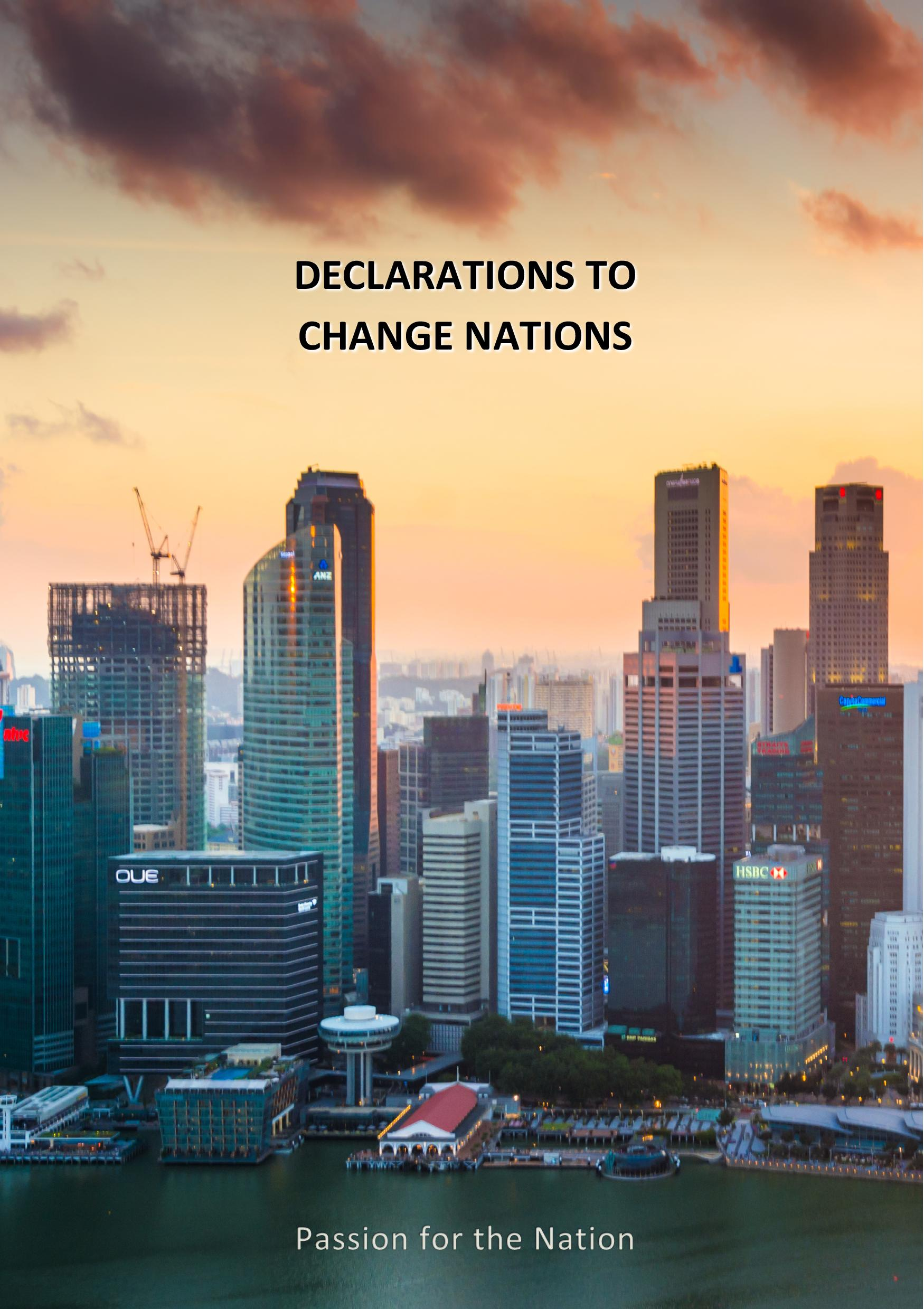 Declarations to Change Nations
